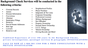Background Check orange county, Background Check Los Angeles